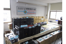 台湾で、過去最大規模の海賊版摘発……ディスク5万枚超・複製機100台超を押収