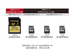 6つの耐久性能と高速データ転送を誇るSD/MicroSDカードシリーズ、パナソニックが発売
