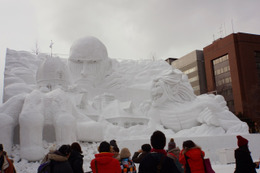 「第67回さっぽろ雪まつり」開幕!「進撃の巨人」や五郎丸も