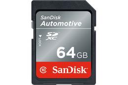 車載&産業用SDカードに新機能搭載モデルを追加……サンディスク