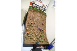 地中に埋める杭をICT化、土砂災害を検知するシステム