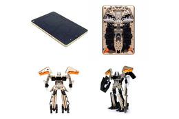 ギミックにやられる!タブレットがトランスフォーマーのロボットに変身!?
