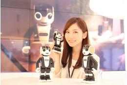ロボット×スマホを実現! シャープ、モバイル型ロボット電話「RoBoHoN」