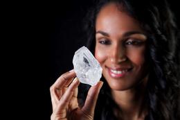 過去100年で最大のダイヤモンド原石、オークションに…75億円超か