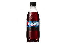 ペプシ史上最強の炭酸、強カフェインの「ペプシストロング」発売へ