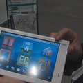 【iEXPO2010(Vol.11):動画】用途広がるAndroidタブレット「LifeTouch」 画像