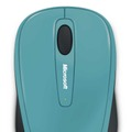 「Microsoft Wireless Mobile Mouse 3500」コーストブルー