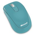 「Microsoft Wireless Mobile Mouse 1000」コーストブルー