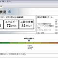 Tivoli Endpoint Manager for Power Managementの電力消費量メーター画面