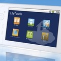 Android搭載タブレット型端末「LifeTouch」