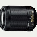 セットの望遠ズームレンズ「AF-S DX VR Zoom-Nikkor 55-200mm f/4-5.6G IF-ED」
