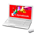 「dynabook T451/59D」「dynabook T451/57D」リュクスホワイト