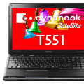「dynabook Satellite T551/WTCD」正面