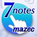 「7notes with mazec」アイコン
