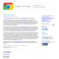 Chrome Blog