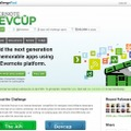 「Evernote Devcup」サイト
