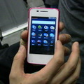 MWC 2013のプレイベントで発表されたFirefox OS搭載端末「ONE TOUCH FIRE」