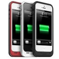 「mophie juice pack helium for iPhone 5」装着イメージ(iPhone 5は別売)