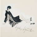 Art Complex by Yohji Yamamoto A Beauty Looking Back(見返り美人)限定ポストカード