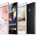 Huawei、世界最薄という厚さ6.18mmのスマートフォン「Ascend P6」発表 画像
