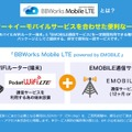 「BBWorks Mobile LTE powered by EMOBILE」サービス内容