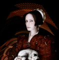 #54 - After Hans Holbein the Younger : Portrait of Dorothy Kannengiesser