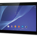 「Xperia Z2 Tablet」Wi-Fiモデルのブラック