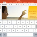 PowerPoint for iPadの画面