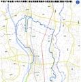 鬼怒川の堤防決壊……国土地理院、浸水地域の地図を公開 画像