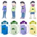 SoftBank SELECTIONから人気TVアニメ「おそ松さん」とコラボしたiPhone 6s/iPhone 6向けケース「おそ松さん 推し松ケース」が登場