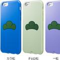 iPhone 6s/iPhone 6向けケース「おそ松さん 推し松ケース」カラーバリエーション