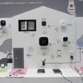 月額利用料不要のホームセキュリティを実演展示……パナソニック 画像