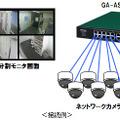 小型店舗の監視カメラに最適なPoE Plus給電スイッチングハブ 画像