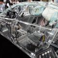 透明なクルマに乗ってみた!アクリルカー「ZF's acrylic car」 画像