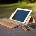 オーダーメイドで自分仕様に! オシャレな木製Bluetoothキーボード「Board 2」 画像