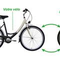 """前輪を取り換えるだけ!スマホでデータ管理できる自転車用""""電動タイヤ"""" 画像"""