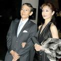 周防正行監督と妻・草刈民代 (c)Getty Images