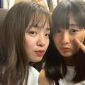 大友花恋、横田真悠との仲良しショット公開!「Seventeen」への想いじわり