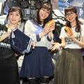 (左から)松澤千晶、貴島明日香、磯村知美【撮影:浜瀬将樹】