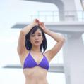 中崎絵梨奈、大磯ロングビーチで抜群のスタイル披露!来場者投票でも1位に