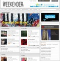 「Weekender | Japan's First English Magazine」サイト(画像)
