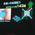 「CEATEC JAPAN 2009」で展示された「CELL REGZA 55X1」の様子