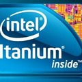 「Intel Itanium inside」のロゴ