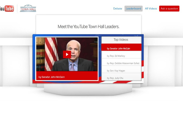 YouTube Town Hall
