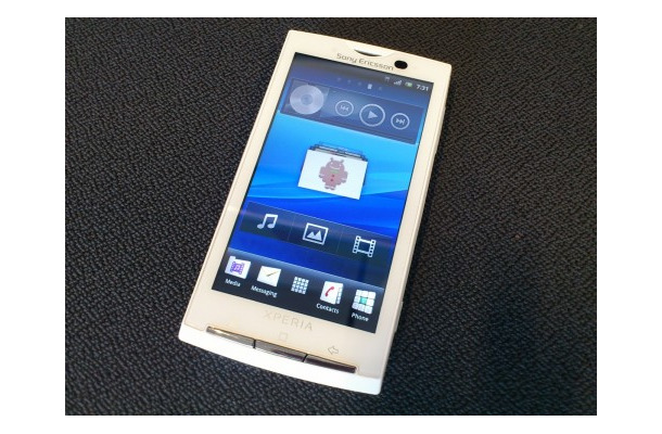 「Xperia X10」、Android OS 2.3へのアップデートは8月上旬
