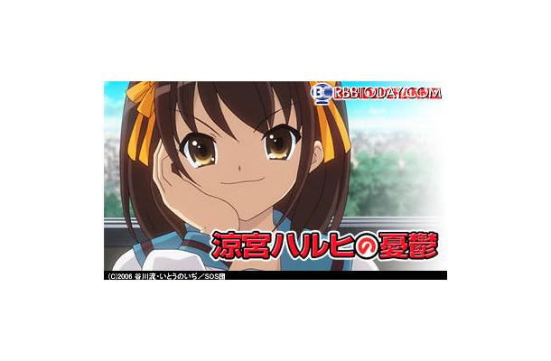 1位になったのは「涼宮ハルヒの憂鬱」の兵庫県西宮市