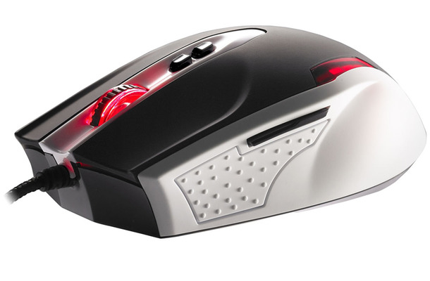Tt eSPORTS BLACK Gaming Mouse /White Version MO-BLK002DTG01