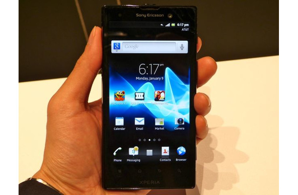 AT&T向けに供給される「Xperia ion」