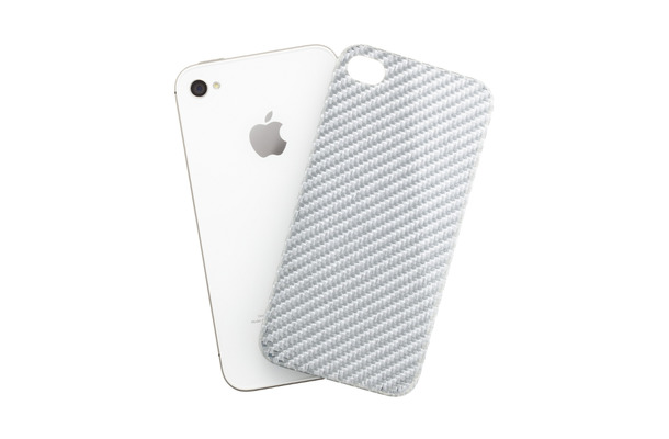 「The Silver Carbon for iPhone 4S/4」
