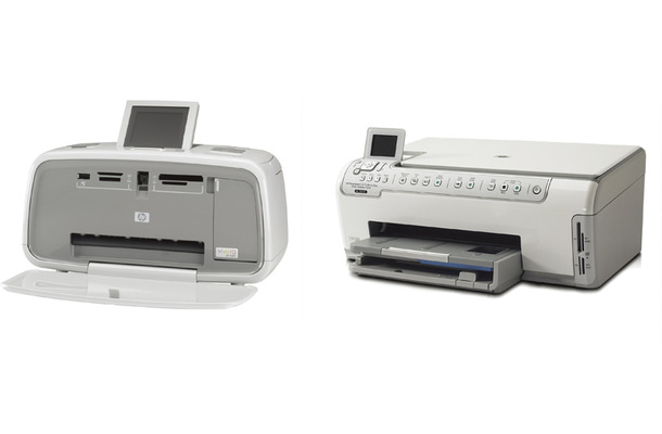 左:HP Photosmart C5175 All-in-One 右:HP Photosmart A616
